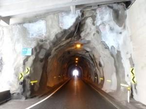 2015.02 新潟県 乾式 トンネル 第一建設工業 一般国道459号線 如月・師走隧道補修工事3
